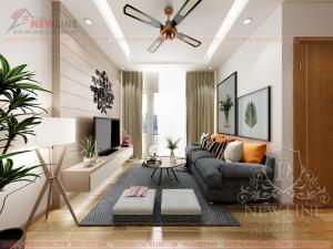 Thiết kế nội thất chung cư đẹp NT 170107