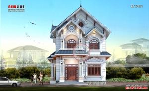 Thiết kế biệt thự vườn 2 tầng mái thái nghĩ dưỡng ở ngoại ô BT17051
