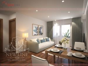Thiết kế nội thất hiện đại nhẹ nhàng NT 171105