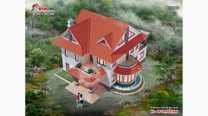 99+ Mẫu biệt thự vườn đẹp gần gũi nông thôn Việt được yêu thích nhất 2020 (P2)