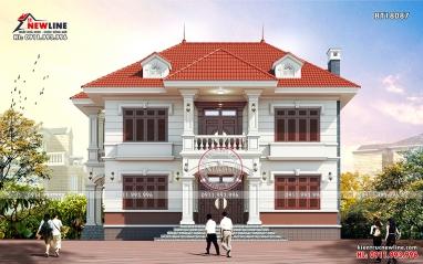 Thiết kế nhà đẹp Biệt thự vườn phong cách Á Đông BT18087
