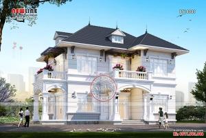 Thiết kế Biệt thự nghỉ dưỡng châu Âu đẹp sang trọng đẳng cấp BT18089