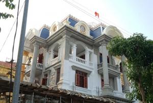 Tiến độ thi công dinh thự tân cổ điển hoàng gia tại Hải Dương BT19003