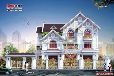 Mãn nhãn trước thiết kế dinh thự hoành tráng tại Lạng Sơn BT19023