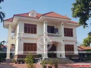 Vẻ đẹp hoàn hảo của thiết kế biệt thự vườn ở Hưng Yên BT18087