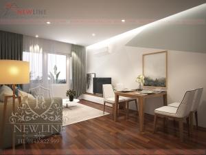 Thiết kế nội thất hiện đại nhẹ nhàng