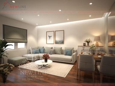Thiết kế nội thất hiện đại đẹp tại Hà Nội NT 171205