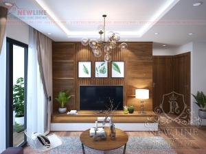 Thiết kế nội thất căn hộ tinh tế nhà Anh Toán NT 180505