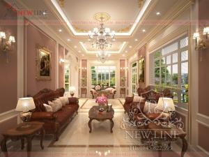 Nội thất Biệt thự đẹp như mộng tại Nghệ An NTCĐ 180218