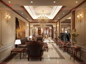 Thiết kế nội thất Biệt thự sang trọng NTCĐ 180808
